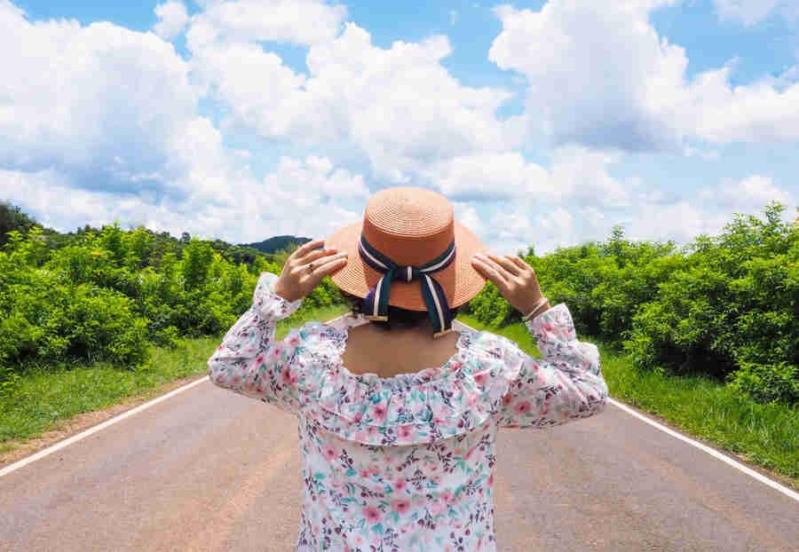 road trip asie femme